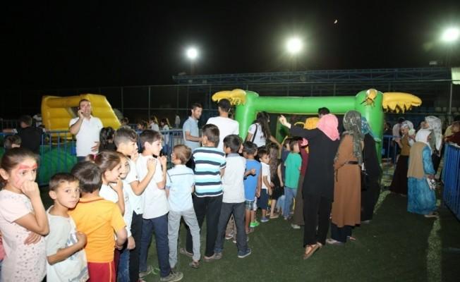 Yüzlerce çocuk Şırnak Belediyesi çocuk şenliğinde buluştu