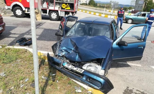 Zonguldak'ta trafik kazası: 7 yaralı