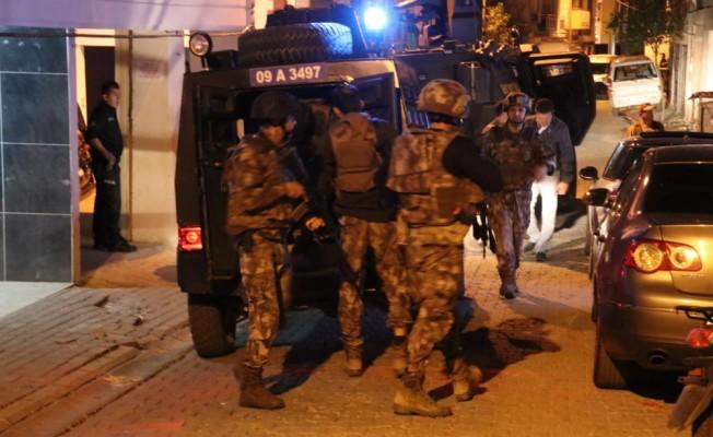 Aydın'da şüphelinin saklandığı inşaata operasyon
