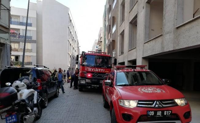 Aydın'daki bodrum yangını korkuttu