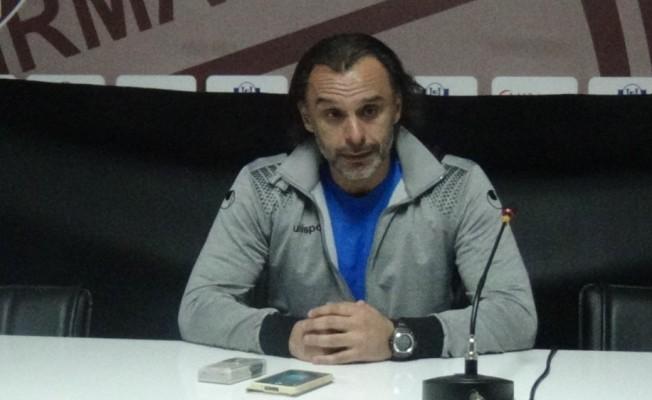 Bandırmaspor Teknik Direktörü Yenikan'dan veryansın