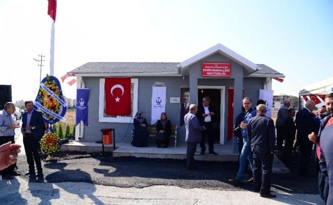 Fatih Mahallesi'ne yeni muhtarlık binası