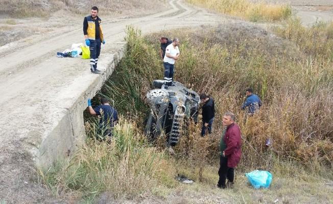 Günyüzü Devlet Hastanesi Başhekimi Dr. Canbay trafik kazası geçirdi