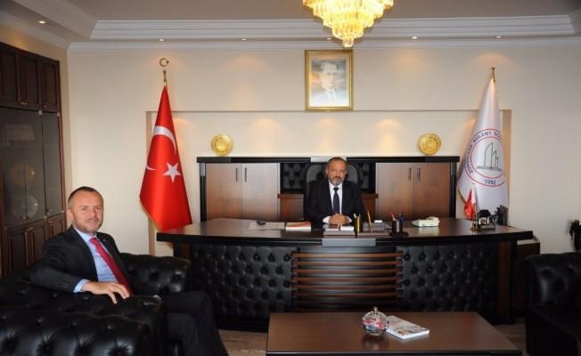Keleş, BEÜ Rektörü Prof. Dr. Çufalı ile Ereğli kampüsünü görüştü
