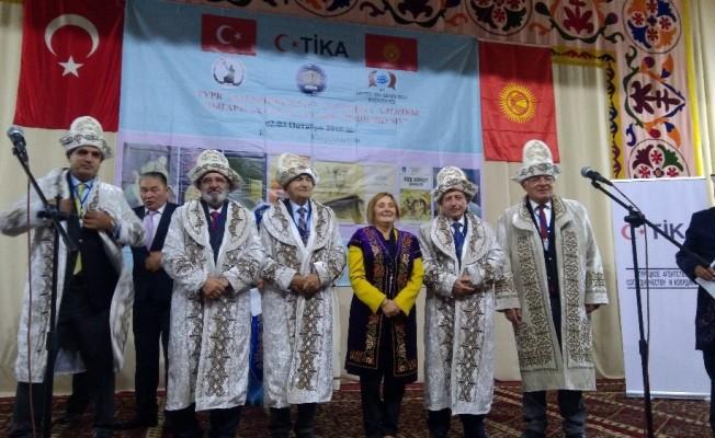 Kırgızistan'da 'Türk Halklarının İlk Türkçe Yazılı Eserleri Sempozyumu' düzenlendi