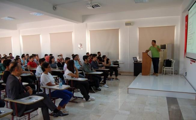 Kumluca'da tarımsal üretim ve gübrelerle ilgili seminer düzenlendi