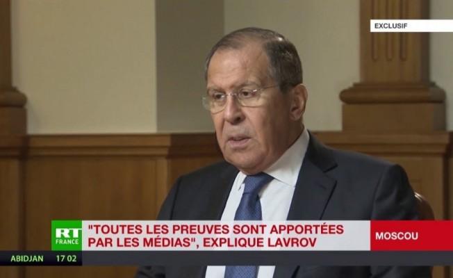 """Lavrov: """"ABD, Suriye'de büyük Kürdistan projesiyle tehlikeli bir oyun başlatıyor"""""""
