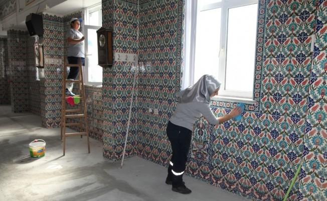 Odunpazarı Belediyesi cami temizliklerine devam ediyor