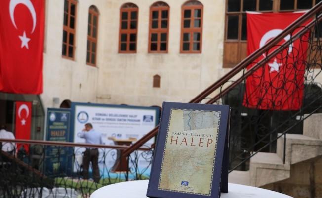 Osmanlı Belgelerinde Halep kitabının tanıtımı ve sergi açılışı yapıldı