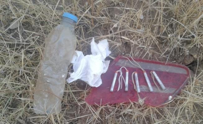 Polise saldırmak için hazırlanan bombalar ele geçirildi