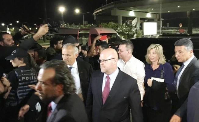 Rahip Brunson İzmir'den ayrılıyor