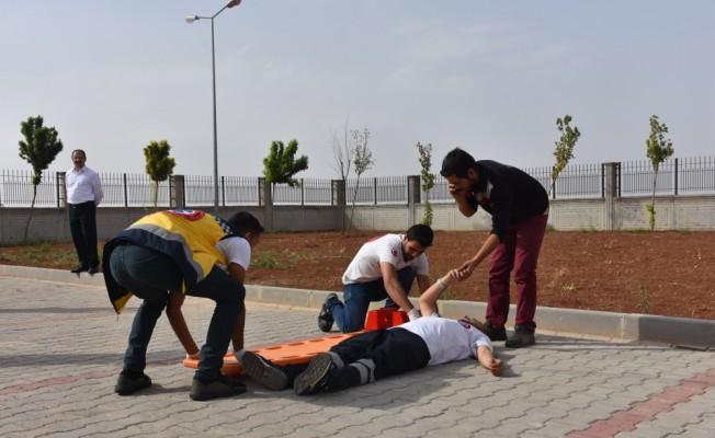 Türkiye'den Suriye'deki ambulans görevlilerine eğitim