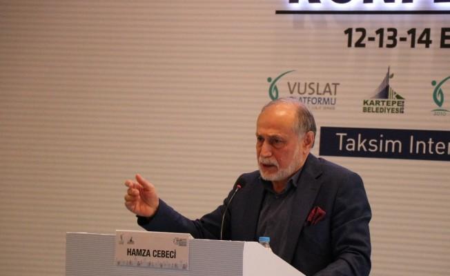 """Uluslararası Vuslat Platformu """"Yeni Dünya Düzeni ve Geleceğin Haritası Konferansları"""" toplantısı başladı"""