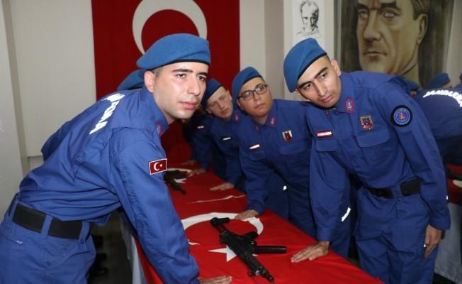 Zonguldak'ta 29 kısa dönem er yemin etti