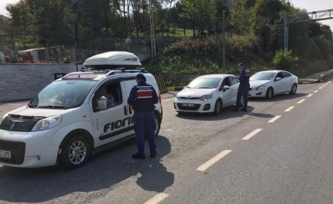 """Zonguldak'ta """"Hırsız Kapan"""" uygulamasında 17 şüpheli yakalandı"""