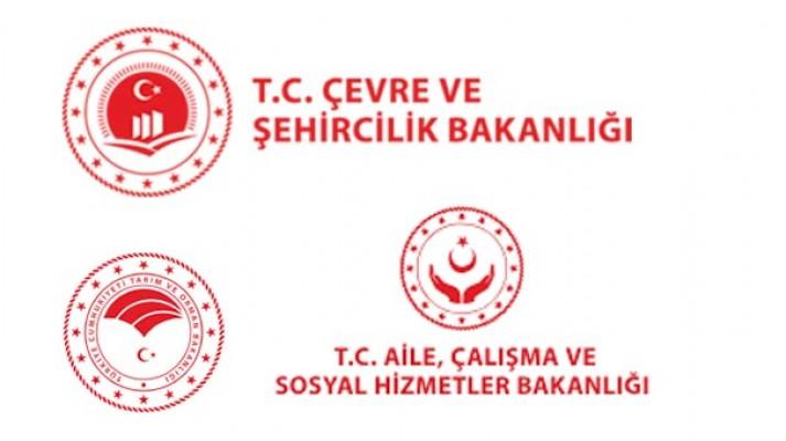 Bakanlıklara yeni logo