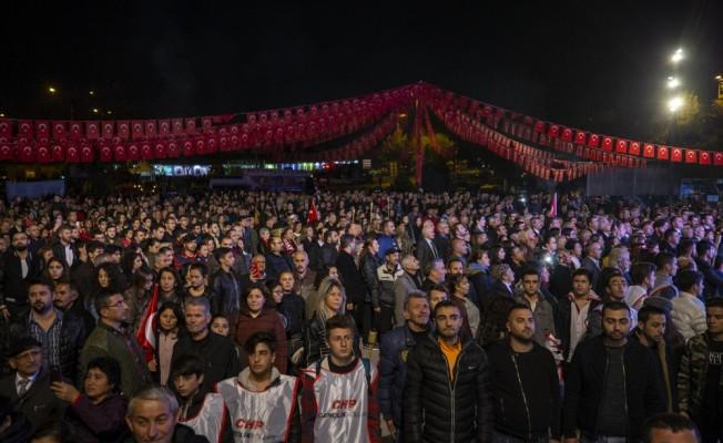 Başkentte Atatürk'e saygı yürüyüşü