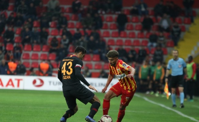Spor Toto Süper Lig: Kayserispor 0 - Galatasaray: 3 (Maç sonucu)