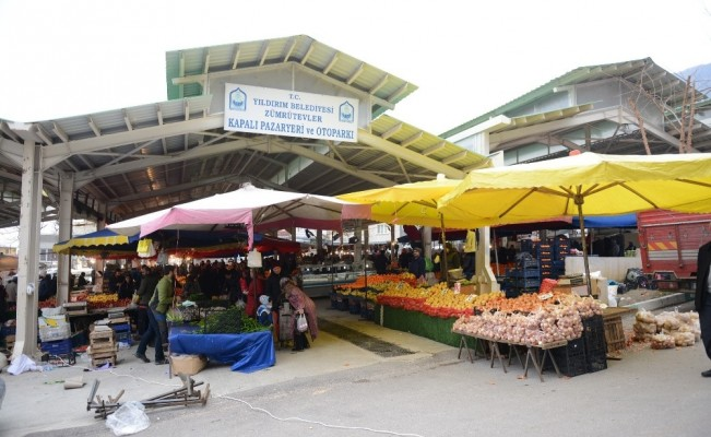 Kapalı pazar yerleri Yıldırım'a değer katıyor