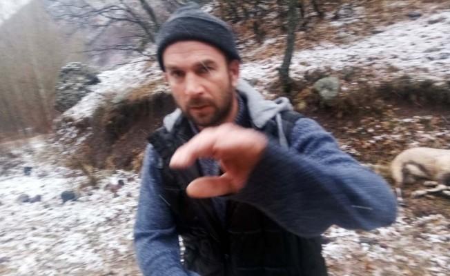 Köylü çekti, işte dağ keçisini vuran şahıs