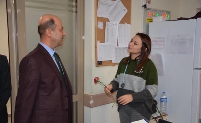 Başkan Bozkurt'un kurum ziyaretleri