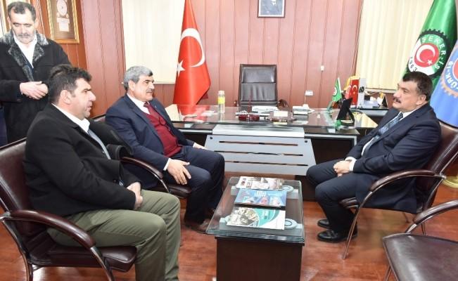 Başkan Gürkan'dan Şeker İş Sendikasına ziyaret
