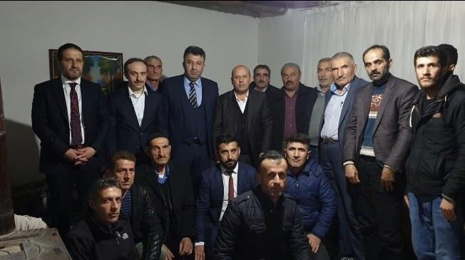 Başkan Vekili Epcim'den Arslan ve Çakır ailelerine ziyaret