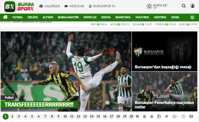 Bursaspor ve Bursa'dan spor haberlerinin doğru adresi!