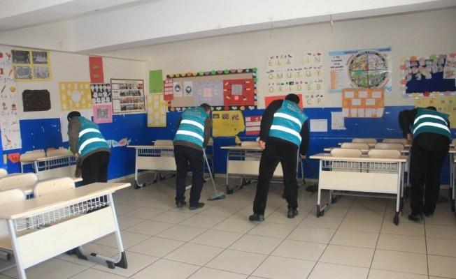 Hükümlüler sömestr tatilinde okulları güzelleştirecek