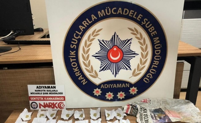üzerlerinde 20 Gram bonzai yakalanan 2 kişi tutuklandı