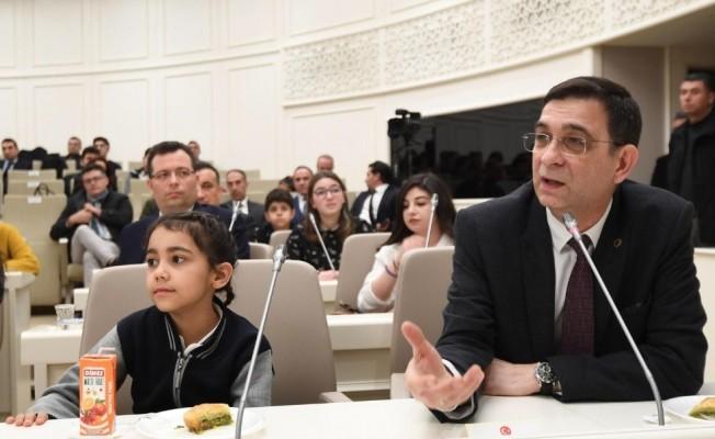 GSO Başkanı Ünverdi, Gazişehir Öğrenci Meclisi'ne katıldı