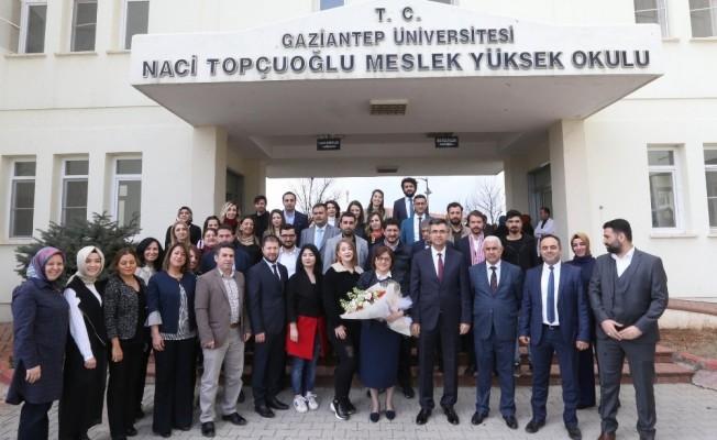 Şahin'in projeleri, üniversite öğrencilerini heyecanlandırdı