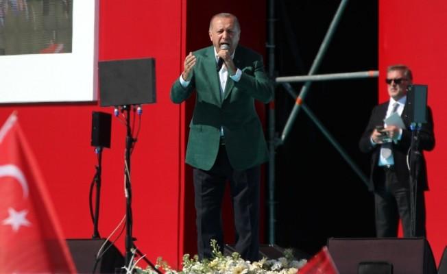 Cumhurbaşkanı Erdoğan, tarihi Cumhur İttifakı mitinginde konuştu: