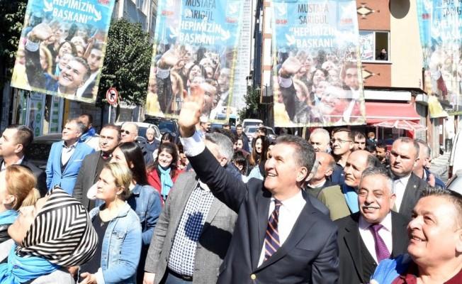 """Mustafa Sarıgül: """"Bütün sokakları dolaşıyorum, sadece projeler konuşulsun istiyorum"""""""