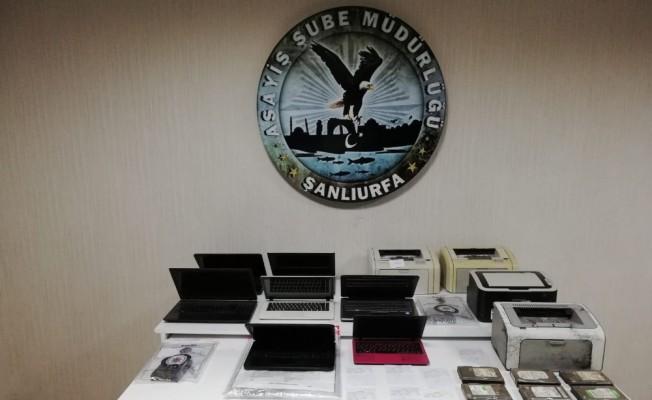 Şanlıurfa'da yasa dışı bahis oynatan 16 kişi gözaltına alındı
