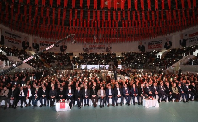 """Sekmen: """"Erzurum için büyük hedeflerimiz ve vizyon projelerimiz var"""""""