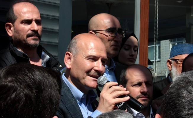 """Süleyman Soylu: """"Seçimde hükümetimiz zafiyete uğrarsa..."""""""