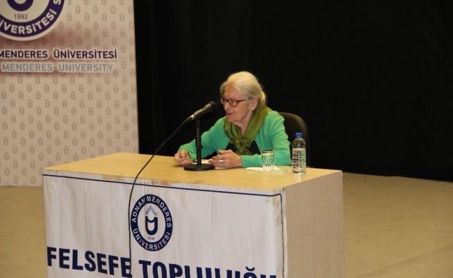 ADÜ Araştırmacı Felsefe Profesörü Ioanna Kuçurudi'yi ağırladı