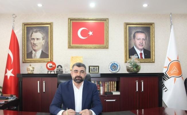 AK Parti Mardin İl Başkanı Faruk Kılıç, 23 Nisan Egemenlik ve Çocuk Bayramı'nı kutladı