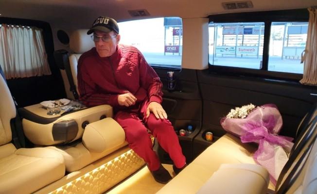 Dünyaca ünlü Holywood yıldızı Jean Claude Van Damme Bodrum'da
