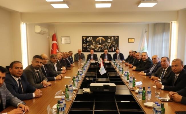 Gaziantep Borsası'ndan BTB'ye ziyaret