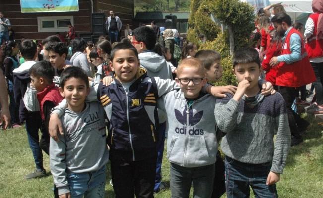 Genç Kızılay'dan Çocuk Festivali