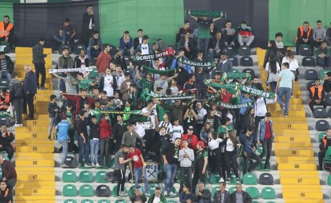 Ziraat Türkiye Kupası: Akhisarspor: 1 - Ümraniyespor: 0 (İlk yarı)