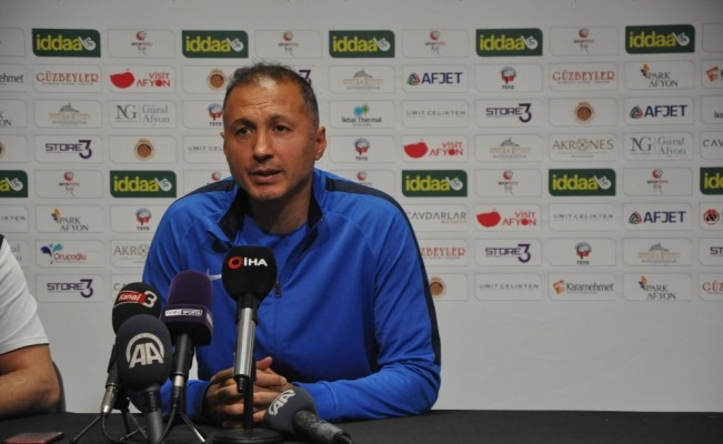 Afjet Afyonspor - Ümraniyespor maçının ardından