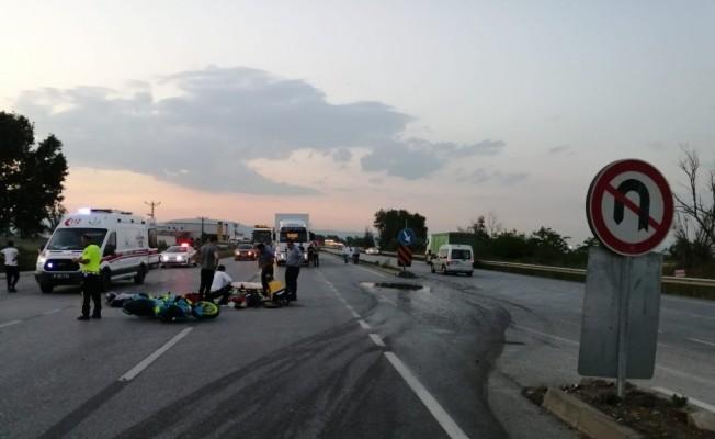 Karacabey'de trafik kazası: 2 yaralı