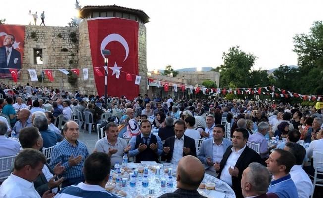 Mut Belediyesi'nden iftar sofrası