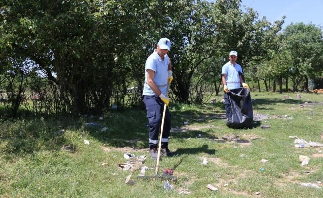 (Özel) Aydos Ormanı'nı piknikçiler çöplüğe çevirdi