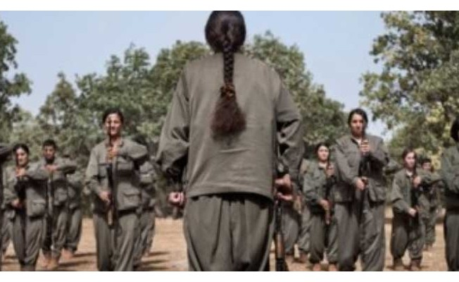 PKK'nın kirli yüzü, kadın teröristin not defterinde .