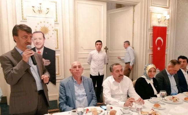 AK Parti Van İl Başkanlığından İstanbul çıkarması