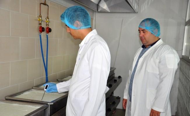 borlu süt ve et ürünleri üretildi